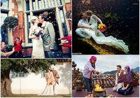 Влюбленная пара сыграла 22 свадьбы по традициям разных стран