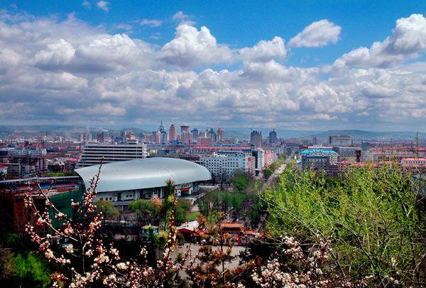 Красивые пейзажи города Муданьцзян