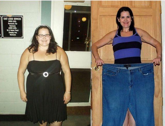 реально похудевшие люди