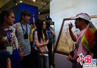 150 студентов МГУ посетили Музей искусства и археологии в Пекине