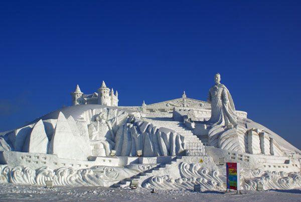 Достопримечательность г. Муданьцзян - Снежный замок