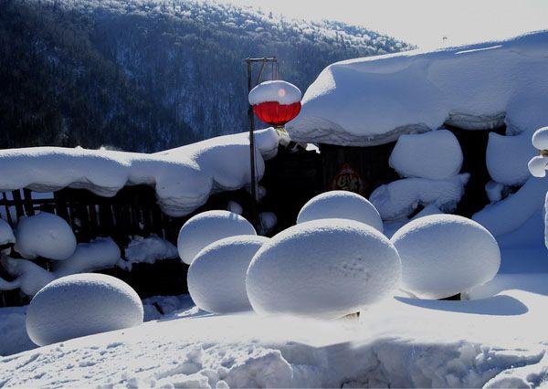 Достопримечательность г. Муданьцзян – Сюесян (?Родина снега Китая?)