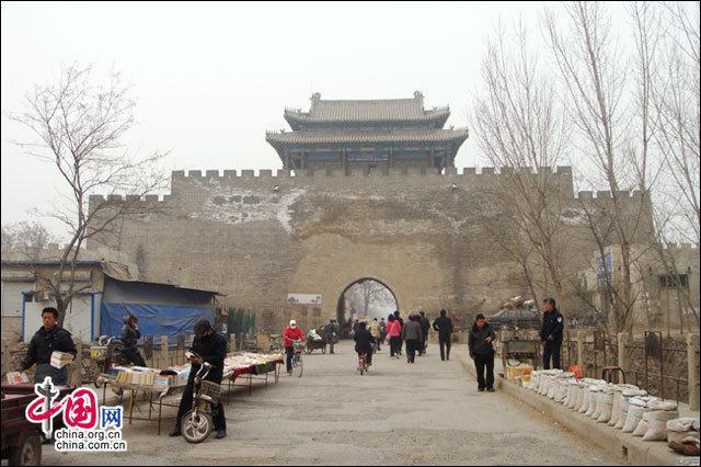 Фото с тысячелетнего уезда Динчжоу провинции Хэбэй