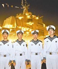 Четверня-моряки на первом авианосце Китая ?Ляонин?