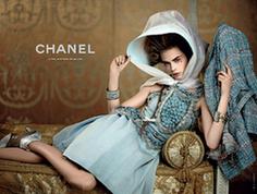 Новейшие рекламные фото «Chanel» 2012 1