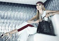 Супермодель России Саша Пивоварова после родов появилась в рекламе Prada