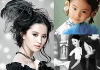 Детские фото известных актрис