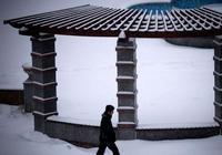 В Урумчи выпал первый снег в 2012 году