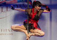 На Чемпионате мира по танцам на пилоне-2012 китайские участники показали Шаолиньский кун-фу