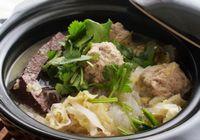 Суп из бараньих фрикаделек и кислой капусты