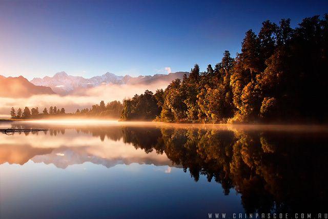 Красивые отражения в воде