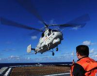 Отряд боевых кораблей ВМС НОАК провел учения в западной части Тихого океана