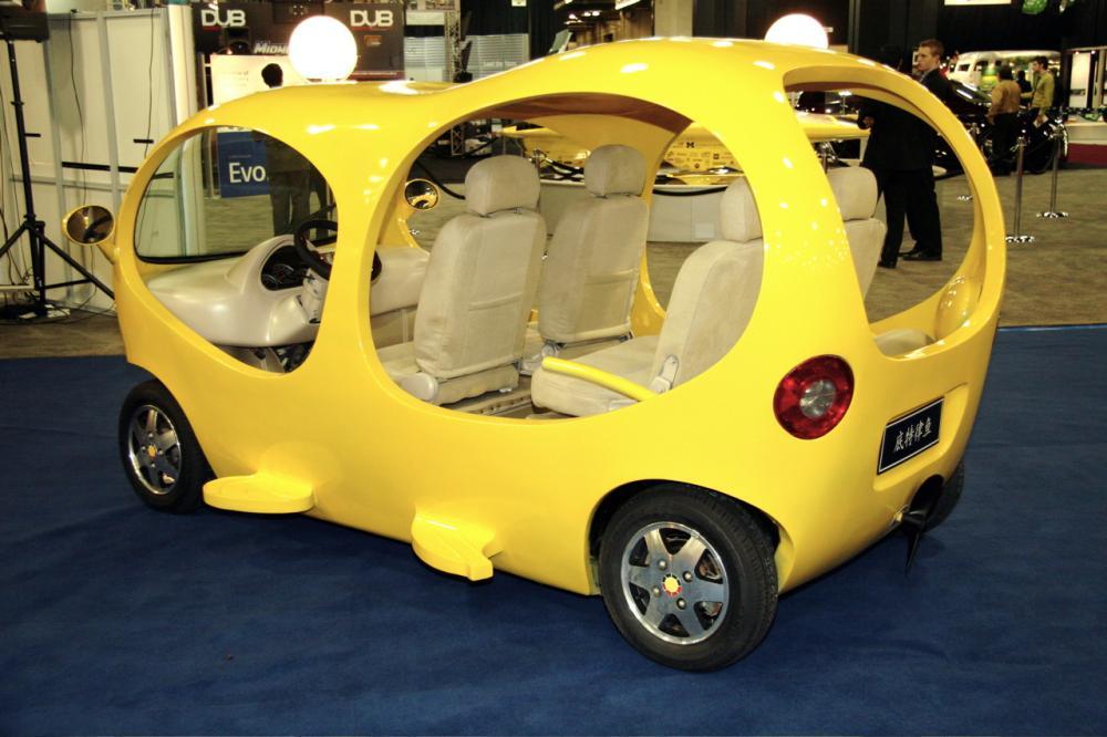 ТОП-5 самых необычных автомобилей из…