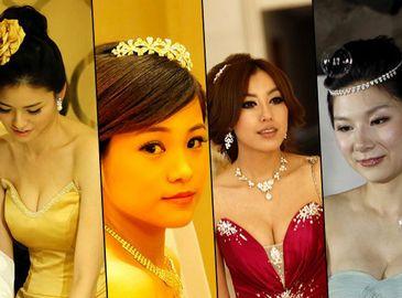 Очаровательные невесты футболистов Китая
