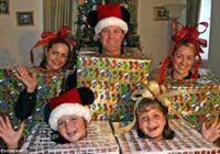 Весёлые рождественские фото иностранцев