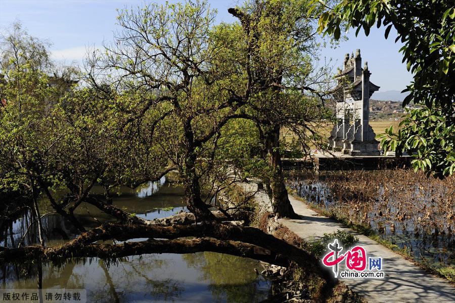 Древняя волость Хэшунь в городе Тэнчун провинции Юньнань
