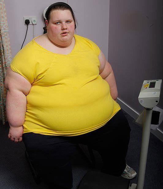 Толстые люди в мире