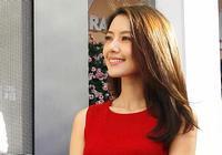 Красавица Гао Юаньюань в красном