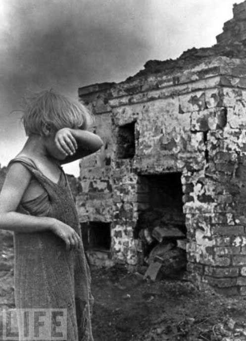 Дети во время второй мировой войны