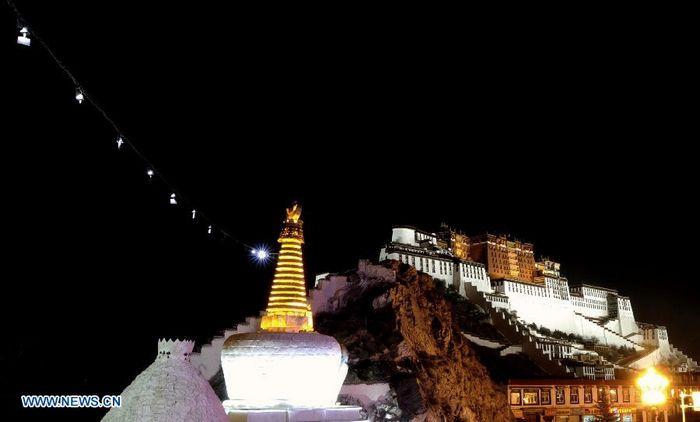 Дворец Потала стал первым в Тибете туристическим объектом класса 5А государственного значения