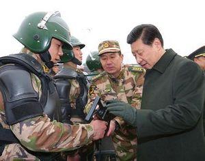 Си Цзиньпин: обеспечить высокую степень коллективной сплоченности вооруженных частей, безопасность и стабильность