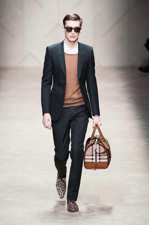 Модная мужская одежда от burberry prorsum 2