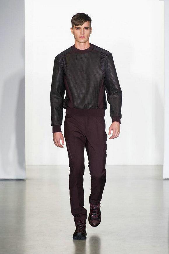 15444ab5b75 Модная мужская одежда от «Calvin Klein» на осень-зиму 2013 2014 ...