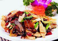 Китайская кухня жареные побеги