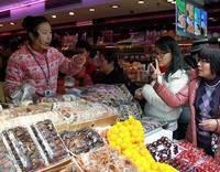 Во время празднования Нового года по лунному календарю в Китае выросли розничные продажи