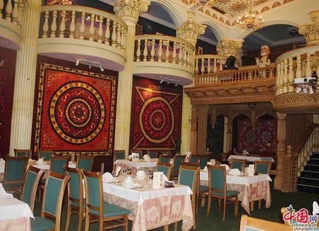 О ресторане узбекской кухни «Шаш» в Пекине