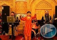 Выступление с узбекским колоритом в ресторане «Шаш»