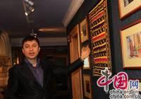 Менеджер Жураев Урал познакомил нас с узбекской бытовой утварью ресторана 'Шаш'