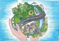Китайские дети рисовали по случаю «Дня лесопосадок»