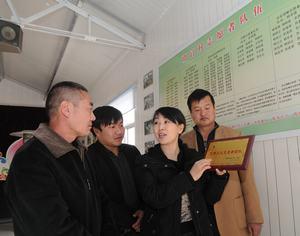 Цзычуань провинции Шаньдун: «пестрые волонтеры» посеят семена Лэй Фэна (китайский герой-альтруист)