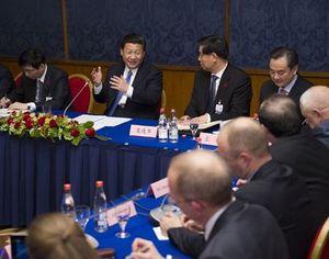 Си Цзиньпин встретился в Москве с российскими китаистами и изучающими китайский язык студентами