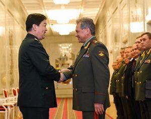 Министр обороны КНР Чан Ваньцюань встретился с министром обороны России С. Шойгу