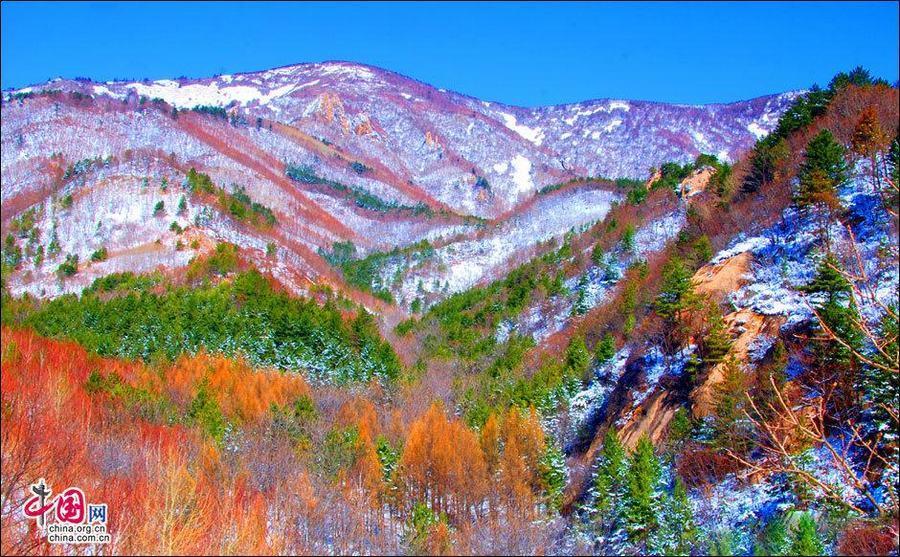 Ранняя весна в горах Улиншань