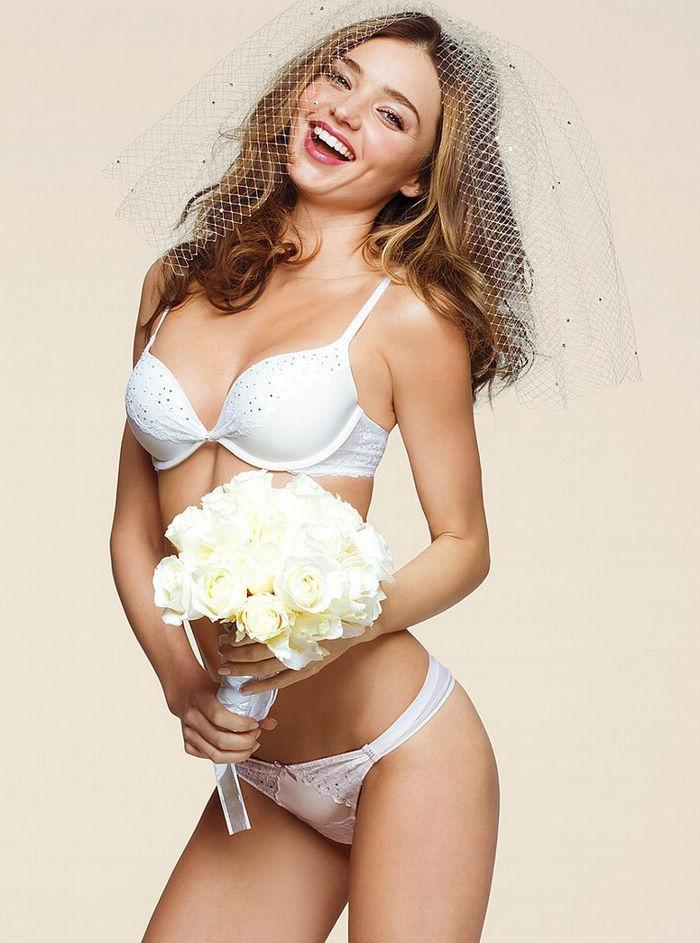 Фото невесты в нижнем белье