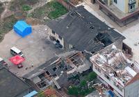 Фотографии пострадавших от землетрясения районов провинции Сычуань, сделанные с воздуха 21 апреля