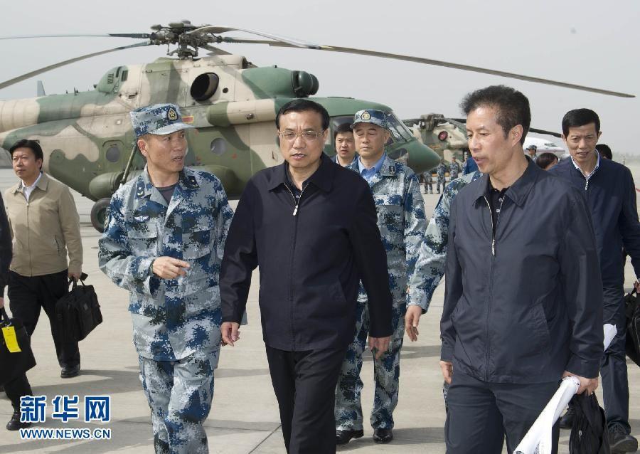 По следам 24-часовой поездки премьера Госсовета КНР Ли Кэцяна в пострадавший от землетрясения район