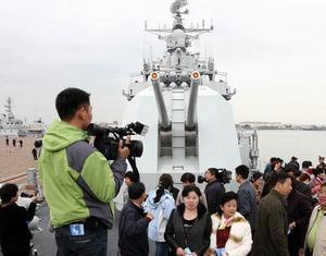 Флот Северного моря КНР проводит День открытых дверей