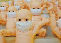 Детские куклы в лицевых масках: загрязнение воздуха стало «хроническим заболеванием» Китая
