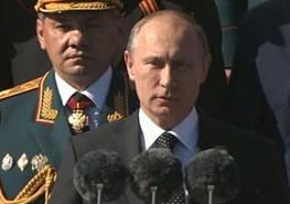 Выступление В.Путина на параде победы