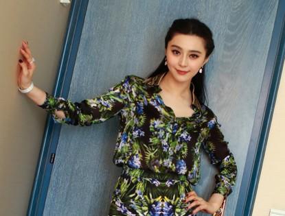 Каннский кинофестиваль 2013: Фань Бинбин в цветном платье