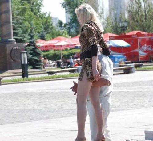 русские за 40 секс на улице города