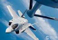 Прекрасные фото: дозаправка в воздухе F-35A Lightning II