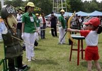 День защиты детей в КНДР: стрельба по «американским солдатам»