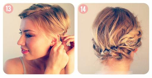 Как плести косы на короткие волосы - 3 мастер-класса в фотографиях.