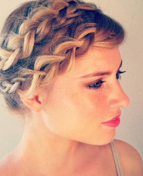 Как сделать причёску украинского стиля?