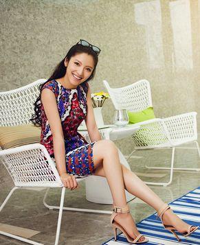 Миловидная красавица Пань Чэнь